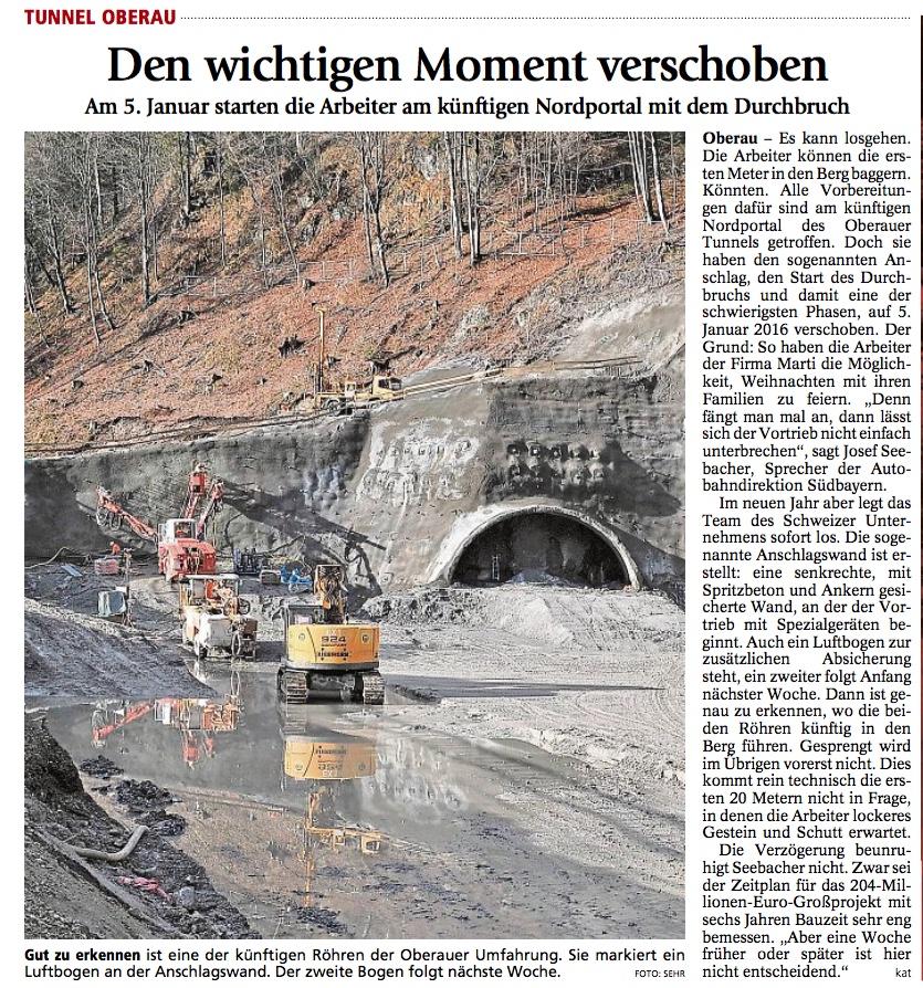 Bericht aus dem Garmisch-Partenkirchner Tagblatt